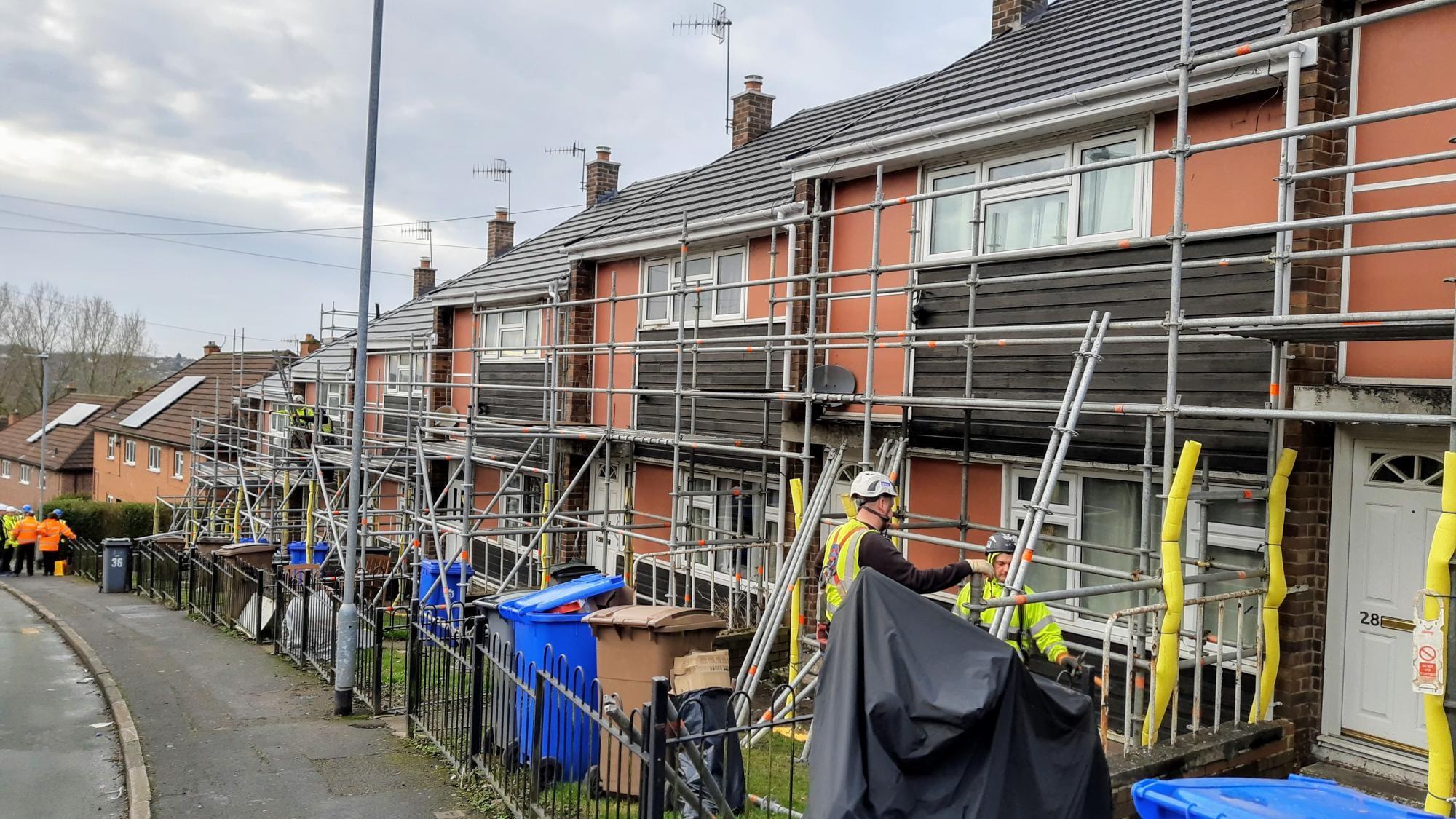 Crosswalls Refurbishment